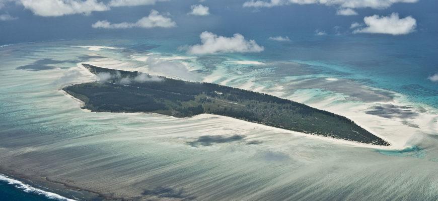 Остров Жуан ди Нова